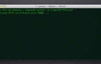 Python pour partager vos répertoires via un serveur web / HTTP