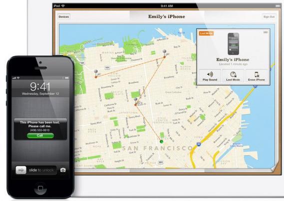 L'appareil s'affiche dans l'app Localiser mon iPhone, mais il apparaît hors ligne