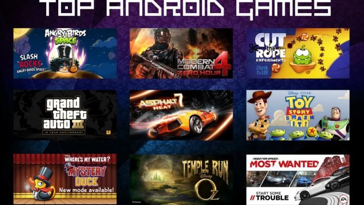 Le top 5 des meilleurs jeux android en 2013