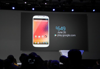 Google transforme le Galaxy S4 en Nexus, disponible le 26 Juin pour 649 $