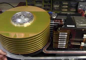 Vas-y on démonte un disque dur à 250 000 dollars !