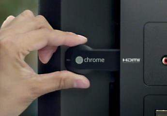 Google présente Chromcast