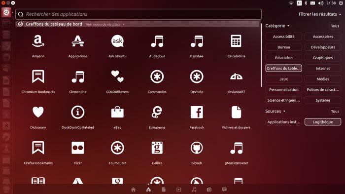 greffons pour ubuntu