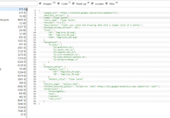 Visualiser le code source d'une extension Chrome