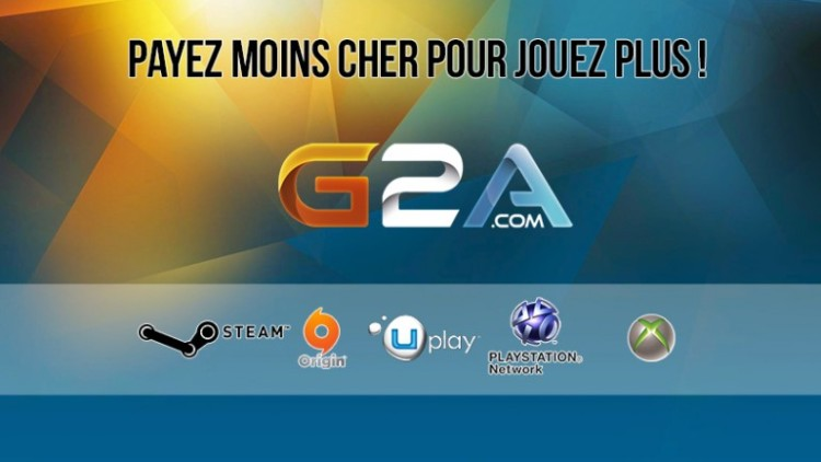 g2a le meilleur site de vente de jeux vid o prix r duit parlons geek. Black Bedroom Furniture Sets. Home Design Ideas