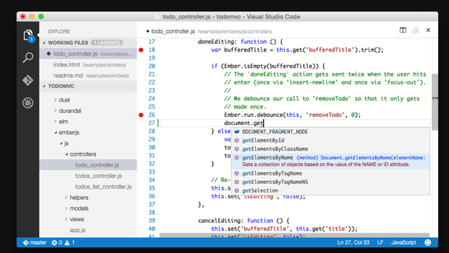 Visual Studio Code Mac