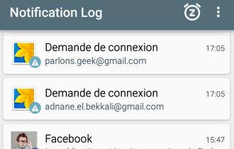 Comment récupérer vos notifications supprimées sous Android